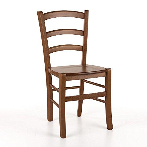 Sediarreda - Conjunto de 4 sillas de estilo rústico