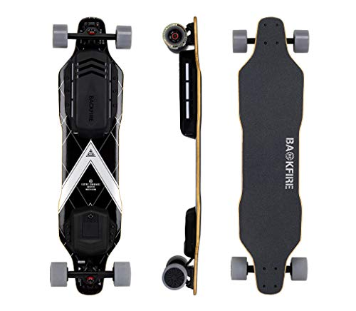 Backfire G3 Electric Skateboard with Bamboo Deck, 28.5 Mph Top Speed, 6 Months Warranty