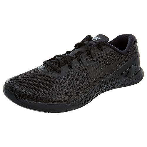 Nike Metcon 3 Size 9.5 Mens Cross Training Black/Black Shoes