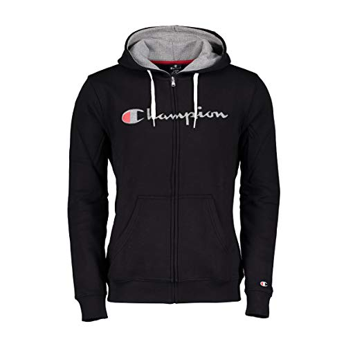 Champion Deutschland Hooded Full Zip Sweatshirt - L