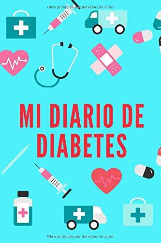 Mi Diario de Diabetes: Cuaderno de Control de la Glucosa | Registro de los Niveles de Azúcar |128 semanas | Diseños Alegres en Interior | Un Regalo Útil para Diabéticos