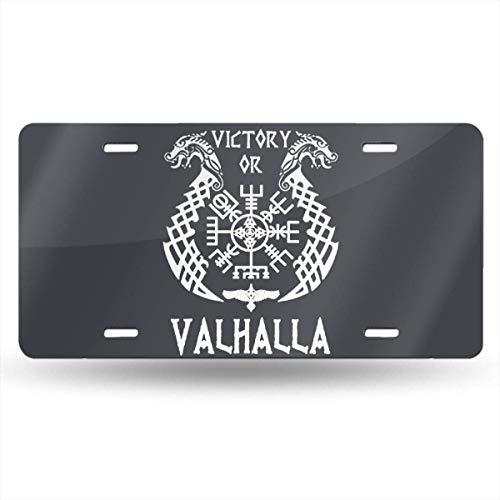 Cara King U.S Air Force Front Metal Aluminum License Plate Vanity car Tag Home Door Sign 6 x 12 with 4