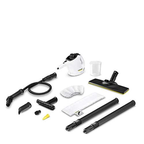 Karcher 1.516-375.0 SC 1 EasyFix Premium tragbarer Reiniger 0,2 l 1200 W schwarz, weiß, 18/8 Edelstahl