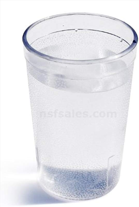 New Star Foodservice 46564 Tumbler Beverage Cups Restaurant Quality Plastic 5 Oz Clear Set Of 12