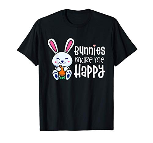 Bunny Shirts For Girls Kid Rabbit Lover Gifts For Women Mom T-Shirt -  Bunny by Joy Haus