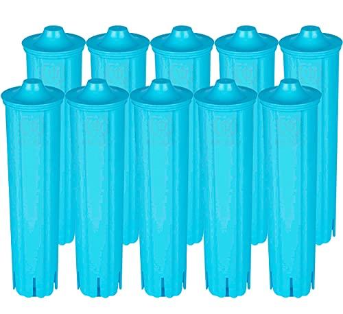 10 x BROUGI filtr do wody do wkładów filtrujących JURA CLARIS BLUE ENA 3 5 7 9 J9.2 J9.3 J9.4 J80 J85 Z7 Z9 One Touch Impressa A5 A9 C50 F7 F8 Giga Ekspres do kawy Water Filter (10 sztuk)