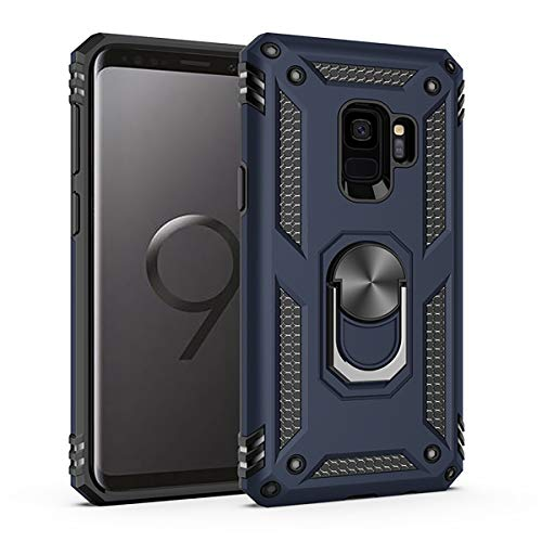 cheap Amuoc case for Samsung Galaxy S9,[ Military Grade ] 15 feet. Drop-tested protective cover | Stand |…