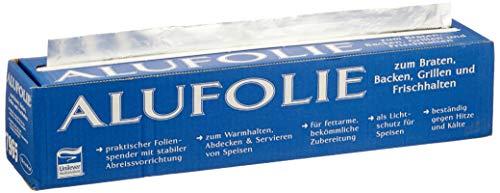 Unilever Food Solutions Alufolie, 150 m x 44 cm, 1er Pack (1 x 2,5 kg)