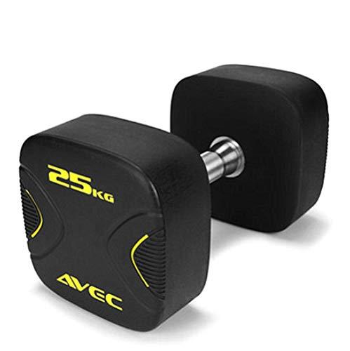YLJYJ Fitness-Hanteln für Männer und Frauen, Arm-, Bein-, Brustmuskeltraining, Kraft, Geschwindigkeit, Ausdauerform, die perfekte Figur für jeden Boden, 25 kg