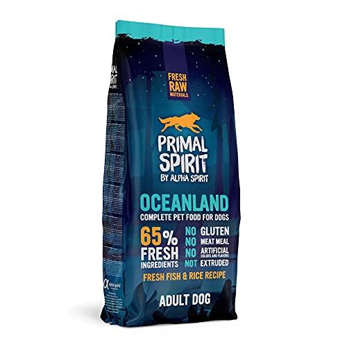 Primal Spirit8436586310844 65% Oceanland Adulto Perros Comida 12 kg