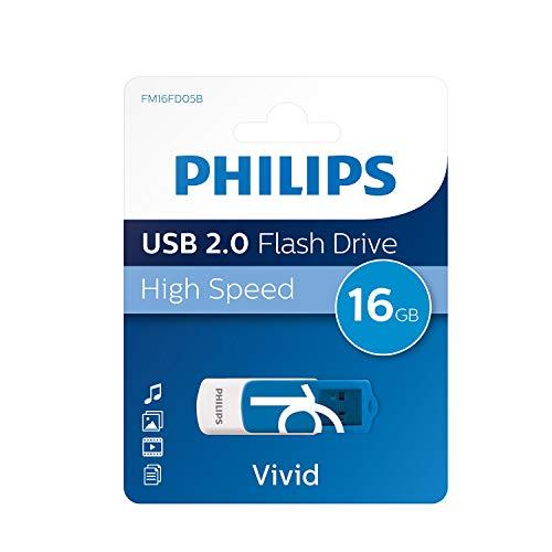 Philips Vivid - Memoria USB de 16 GB