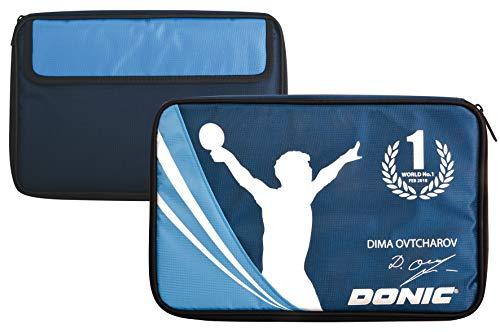 Donic-Schildkröt Funda Ovtcharov para Raqueta de Tenis de Mesa, con Bolsillo para Accesorios, 818538