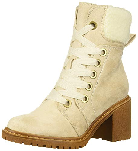 Roxy Damen Whitley Boot modischer Stiefel, weiß, 35 EU