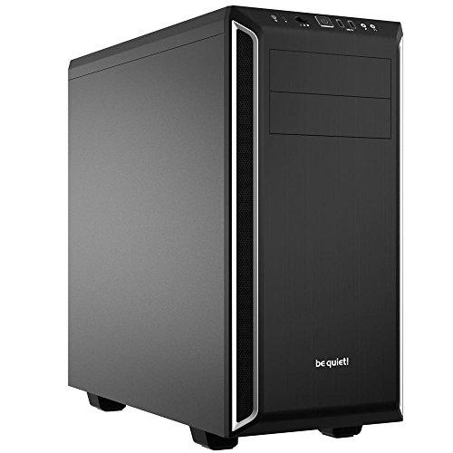 be quiet! Pure Base 600 Midi-Tower Negro, Plata Carcasa de Ordenador - Caja de Ordenador (Midi-Tower, PC, ABS sintéticos, Acero, ATX,Micro-ATX,Mini-ITX, Negro, Plata, Juego)