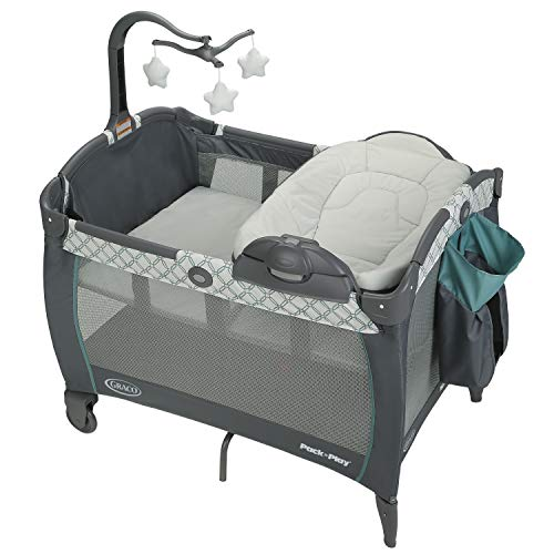 Graco Pack n Play Playard Reversible Seat and Changer LX