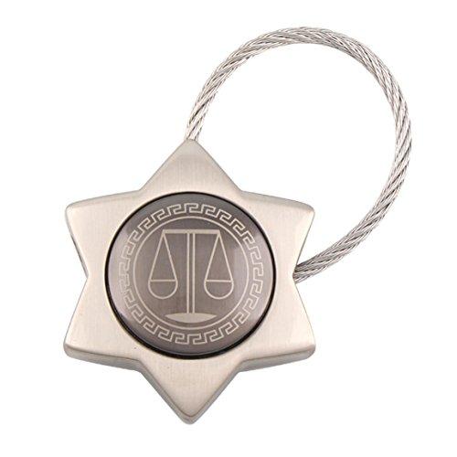 Xw Weegschaal Creatieve Sleutelhanger Auto Sleutelhanger Hanger Handtas Ring Hanger