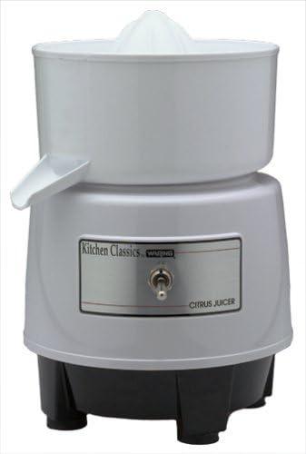 discount Waring PCJ201 Citrus Juicer, new arrival Quite White online sale (Renewed) outlet sale