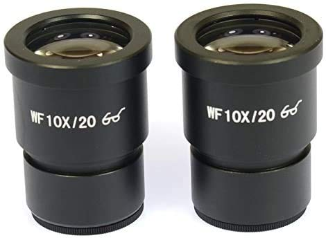 Parco Scientific PA-ES300 WF10X/20 Pair of Wide-Field Eyepieces(30mm) for Stereo Microscopes (Suitable for XMZ Series)