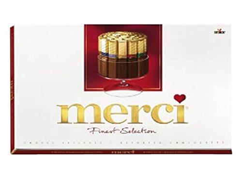 8 x Chocolade Merci Assortiment 400 gram