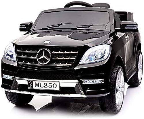 Kinderauto Mercedes - Benz ML350 Modell 2017 2018 Kinderauto - Vollausstattung ( Schwarz)