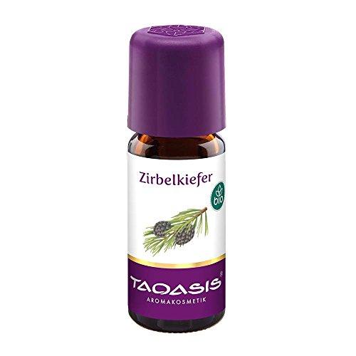 TAOASIS Zirbenöl Bio, 100{1cb41f8c1d9ec4b79af57f02249c627b57c870580e2592d57390c954f817050e} naturreines ätherisches Zirbe Öl aus Österreich