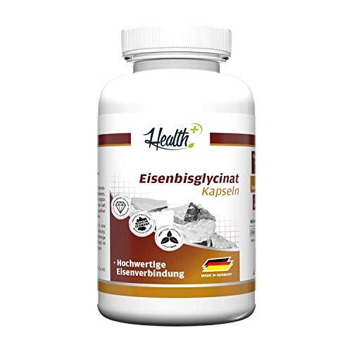 Health+ Eisenbisglycinat - 120 Kapseln