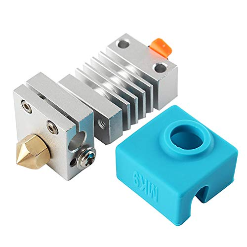Niumen 3d Printer Nozzle,Stainless Steel Extruder Nozzle All Metal Hotend Kit For CR-10, Ender-3, Ender-3 Pro, CR-10 S5, CR- 10 -MINI, CR-20, CR- 20 PRO Printers