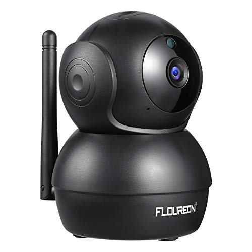 FLOUREON Home Security Camera 2.0MP, 1080P HD Wireless Security Camera, WiFi IP Pet Camera CCTV Video Surveillance with Pan/Tilt Human Motion Detection Two-Way Audio Night Vision