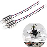 Crazepony 4pcs 6x15mm Motor (Speed: Insane) 19000KV for Blade Inductrix Tiny Whoop Micro JST 1.25 Plug