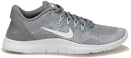 Nike Women's WMNS Flex 2018 Rn Competition Running Shoes, Grey (Cool Grey/White 010), 3 UK