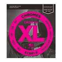 DADDARIO ダダリオ 5弦ベース弦 ECB81-5 Chromes Bass 5-Strings 45-132