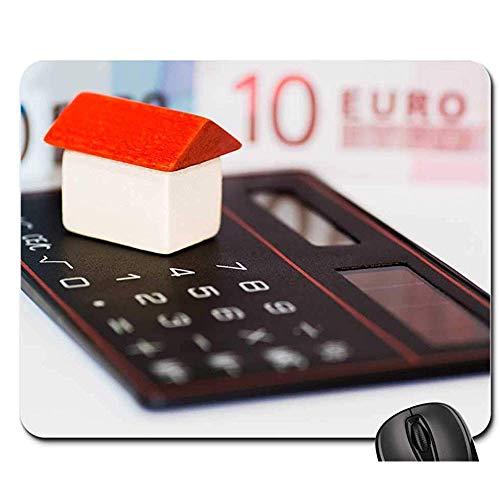 Multifunktionales Office Mauspad - Mausunterlage - Hauptgeld-Euro-Taschenrechner-Finanzgeschäft