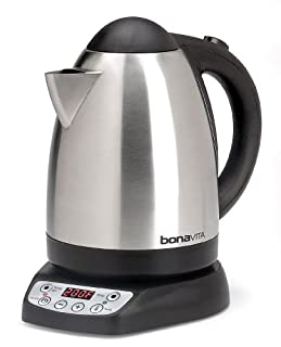 Bonavita BV382517V 1.7-Liter Variable Temperature Digital Electric Kettle, Metallic (B008YE3RNG) | Amazon price tracker / tracking, Amazon price history charts, Amazon price watches, Amazon price drop alerts