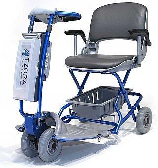 Lexis Light Folding Travel Scooter BLUE