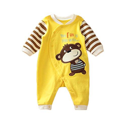 Vine Bambino Ragazze Ragazzi cartone animato costumi infantile attrezzatura Bambino pagliaccetto tutina, 3-6 mesi