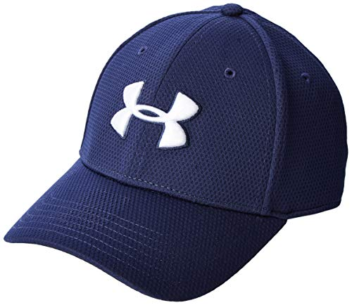 Under Armour Blitzing II - Gorra, Hombre, Azul (Midnight Navy/White 417), M/L