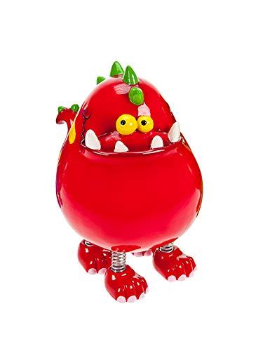 Mousehouse Gifts Piggy Bank Spardose Rote Dinosaurier für Kinder oder Erwachsene Jungen und Mädchen Geschenk