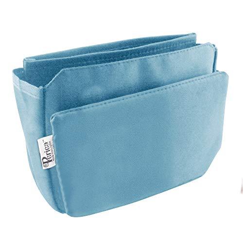 Periea Organizzatore da borsetta,Insert, Liner 9 tasche 20x16x7cm - Tegan Marrone chiaro