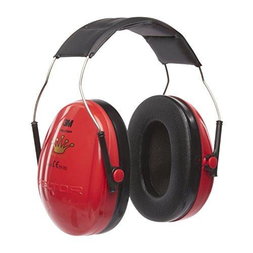 3M Peltor 7100180920 Princess Kids gehoorbescherming voor kinderen, met verstelbare hoofdbeugel voor lawaai tot 98dB - SNR 27 rood