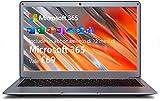 Jumper Ordenador portátil 13.3 Pulgadas, Microsoft Office 365, 4GB+64GB, Portátil HD, WiFi de Doble Banda, Windows 10 Laptop, HDMI, Bluetooth4.2, Cámara Frontal HD, Apoyar la expansión de la Memoria