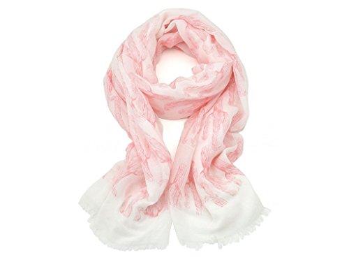 Lizas 72100 Schal/Tuch, Pink, 90x180cm