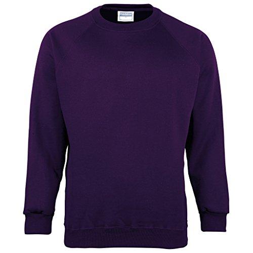 MAKZ - Sweat-Shirt - Manches Longues - Homme - Violet - XXX-Large