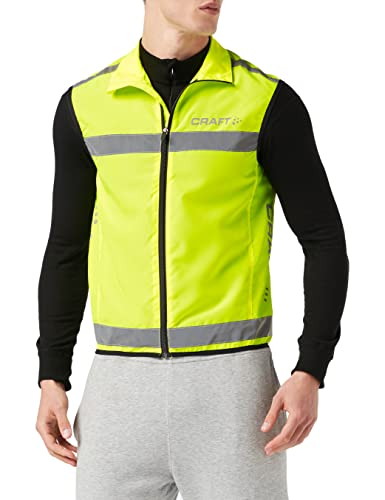 Craft Weste Visibility Vest Warnweste, neon, M