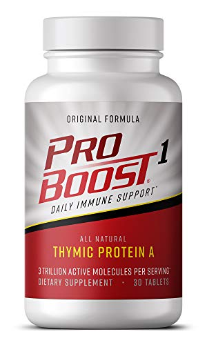 ProBoost 1, Thymic Protein A Sublingual Tablets (30 Count) - Daily Immune Support Supplement by Genicel