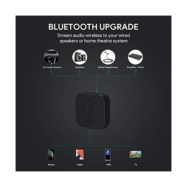 Bluetooth 5 Receiver Wireless Audio Music Adapter 5
