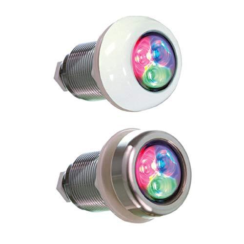 Fluidra LUMIPLUS Micro RGB DMX para P.PREFABRICADA Y SPAS Embalaje ABS (Blanco) Ref 64559