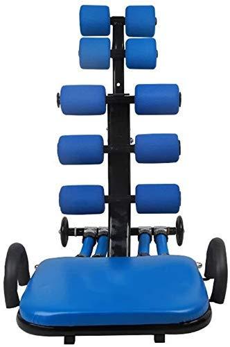 GANE Klappbare Hantelbank Verstellbare 90 ° Flache Rückenlehne Fitnessgeräte Heimbauch Multifunktions-Bauchmuskeln Hantel-Fitnessgeräte