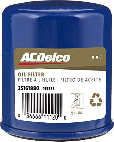 ACDelco PF1233F Professional Durapack Engine Oil Filter (Pack of 12)