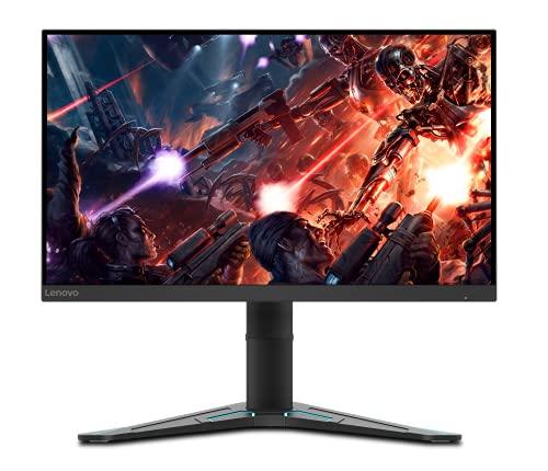 Lenovo G27q-20 - Monitor Gaming de 27' (Pantalla QHD, 2560x1440 Píxeles, 165Hz, 1 ms, Puertos HDMI+DP, Cable DP) - Regulable en Altura e inclinación, Color Negro