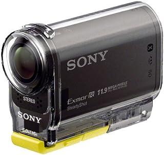 Sony HDR-AS30V 1080p Full HD Flash Memory Camcorder - Waterproof Case SPK-AS2, NFC, Carl Zeiss Lens, Black